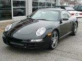 2008 Black Porsche 911 Carrera Coupe #92357