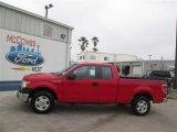 2014 Vermillion Red Ford F150 XL SuperCab #93288938