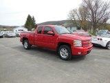 2011 Victory Red Chevrolet Silverado 1500 LTZ Extended Cab 4x4 #93288930