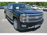 2014 Black Chevrolet Silverado 1500 High Country Crew Cab 4x4 #93289368