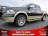 2014 Black Ram 1500 Laramie Longhorn Crew Cab #93337477