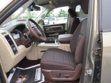 2014 Ram 1500 SLT Crew Cab 4x4 Canyon Brown/Light Frost Beige Interior