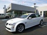 2009 White Hot Pontiac G8 Sedan #93337686