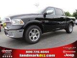 2014 Black Ram 1500 Laramie Crew Cab #93337475