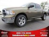 2014 Prairie Pearl Coat Ram 1500 Big Horn Crew Cab 4x4 #93337473