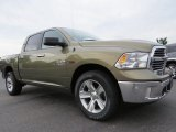 2014 Ram 1500 Big Horn Crew Cab 4x4 Front 3/4 View