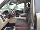 2014 Ram 1500 Big Horn Crew Cab 4x4 Canyon Brown/Light Frost Beige Interior