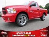 2014 Flame Red Ram 1500 Express Regular Cab #93337469