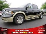 2014 Black Ram 1500 Laramie Longhorn Crew Cab #93337468
