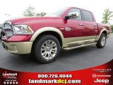 2014 Deep Cherry Red Crystal Pearl Ram 1500 Laramie Longhorn Crew Cab #93337467