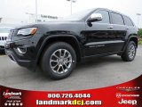 2014 Brilliant Black Crystal Pearl Jeep Grand Cherokee Limited #93337461