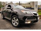 2011 Crystal Black Pearl Acura MDX Technology #93337443