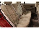 2003 Hyundai Elantra GLS Sedan Rear Seat