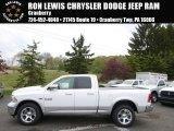 2014 Bright White Ram 1500 Laramie Quad Cab 4x4 #93337407