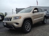 2014 Cashmere Pearl Jeep Grand Cherokee Limited 4x4 #93337205