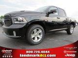 2014 Black Ram 1500 Sport Crew Cab #93337479