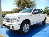 2014 White Platinum Ford F150 Platinum SuperCrew 4x4 #93337387