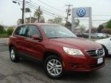 2011 Wild Cherry Metallic Volkswagen Tiguan S 4Motion #93337820