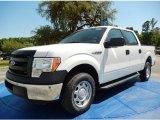 2014 Oxford White Ford F150 XL SuperCrew #93337375