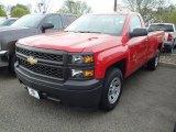 2014 Victory Red Chevrolet Silverado 1500 WT Regular Cab #93337171