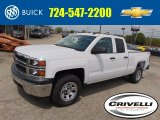 2014 Summit White Chevrolet Silverado 1500 WT Double Cab 4x4 #93337711