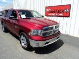 2014 Deep Cherry Red Crystal Pearl Ram 1500 Big Horn Quad Cab 4x4 #93383641