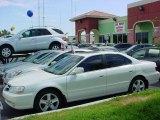 2003 White Diamond Pearl Acura TL 3.2 Type S #9337468