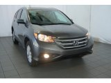 2014 Polished Metal Metallic Honda CR-V EX-L AWD #93401545