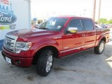 2014 Ruby Red Ford F150 Platinum SuperCrew 4x4 #93401597