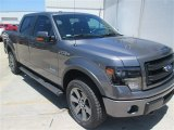 2014 Sterling Grey Ford F150 FX4 SuperCrew 4x4 #93401596
