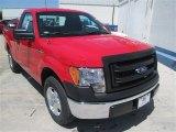 2014 Vermillion Red Ford F150 XL Regular Cab #93401606