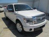 2014 White Platinum Ford F150 Platinum SuperCrew #93401595