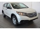 2014 White Diamond Pearl Honda CR-V LX AWD #93401551