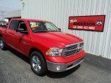 2014 Flame Red Ram 1500 SLT Crew Cab 4x4 #93409699