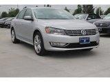 2014 Reflex Silver Metallic Volkswagen Passat TDI SEL Premium #93409594