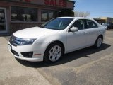 2011 White Platinum Tri-Coat Ford Fusion SE #93409636