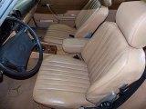 1988 Mercedes-Benz SL Class Interiors