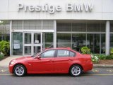 2008 Crimson Red BMW 3 Series 328xi Sedan #9321540