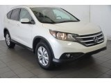 2014 White Diamond Pearl Honda CR-V EX-L #93409356
