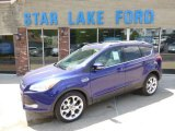 2014 Deep Impact Blue Ford Escape Titanium 2.0L EcoBoost 4WD #93440692