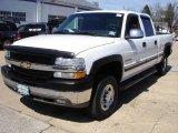 2002 Chevrolet Silverado 2500 LS Crew Cab Data, Info and Specs