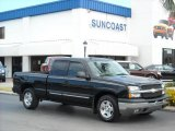 2004 Black Chevrolet Silverado 1500 LT Extended Cab #9333453