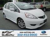 2011 Taffeta White Honda Fit Sport #93440514