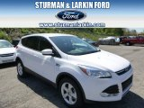 2014 Oxford White Ford Escape SE 2.0L EcoBoost 4WD #93440338