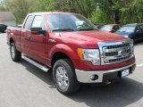 2014 Ruby Red Ford F150 XLT SuperCab 4x4 #93440726