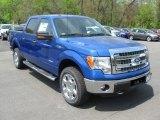 2014 Blue Flame Ford F150 XLT SuperCrew 4x4 #93440723