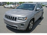 2014 Billet Silver Metallic Jeep Grand Cherokee Overland 4x4 #93440652