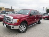 2014 Ruby Red Ford F150 XLT SuperCrew 4x4 #93440235