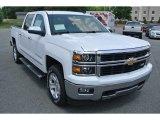 2014 Summit White Chevrolet Silverado 1500 LTZ Crew Cab 4x4 #93440621