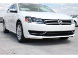 2014 Candy White Volkswagen Passat 1.8T Wolfsburg Edition #93483085